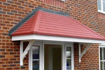 Over roof canopies